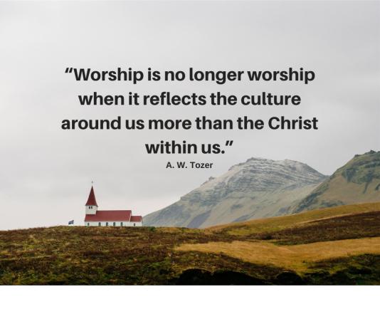 Worship is no longer w o the coke machines part