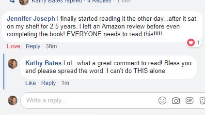 GWGW Reader comment Jennifer Joseph