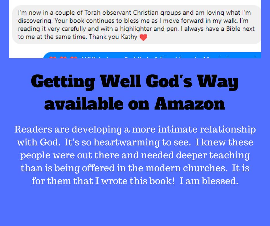 Getting Well God's Wayavailable on Amazon (2)