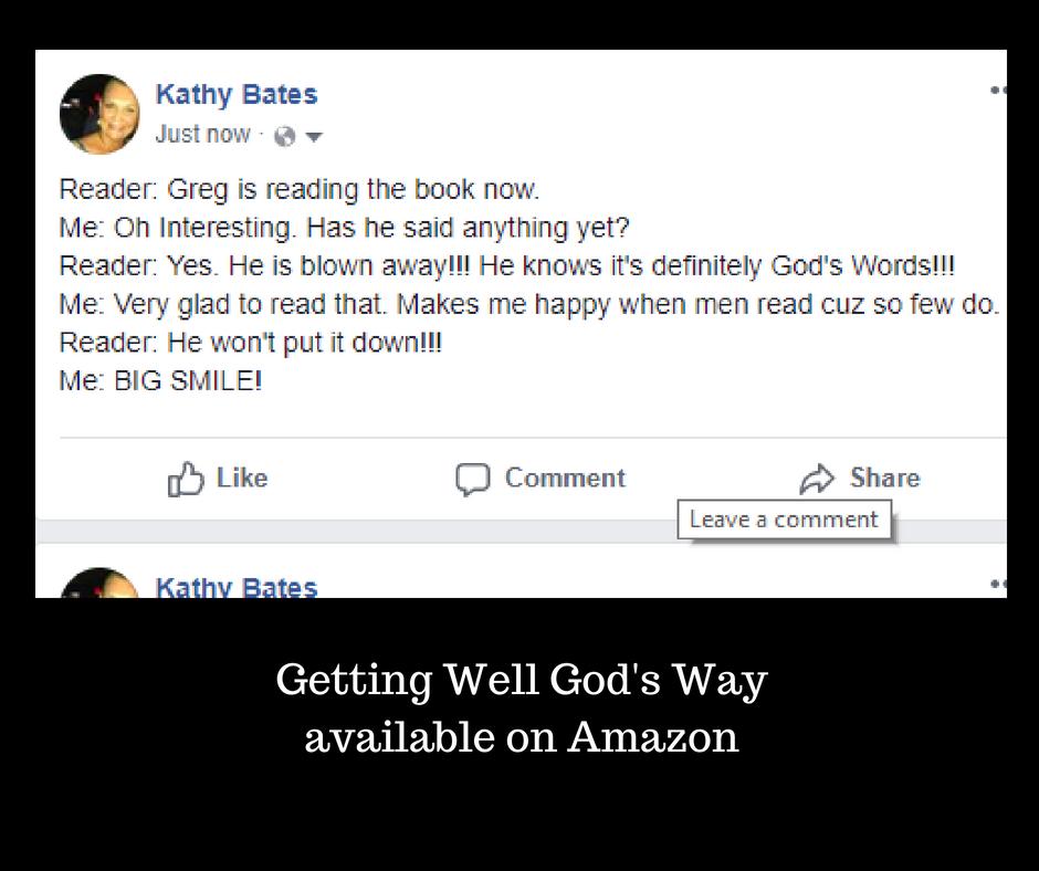 Getting Well God's Wayavailable on Amazon