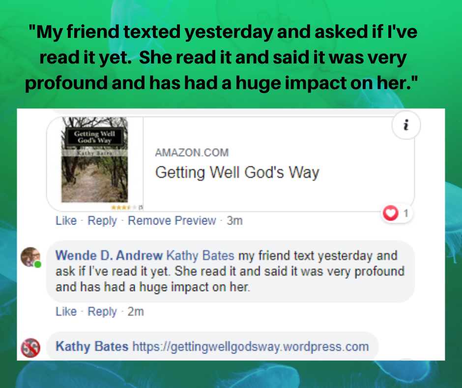 GWGW book review My Friend texted