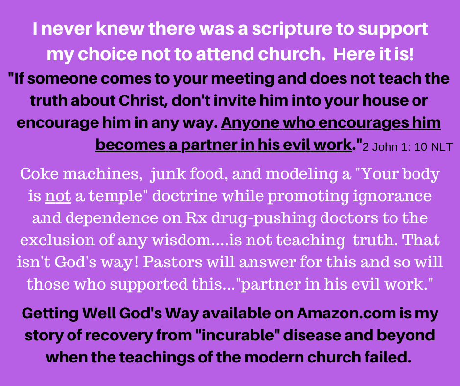 _ If someone comes to your meeting and does not teach the truth about Christ, don't invite him into your house or encourage him in any way. Anyone who encourages him becomes a partner in his evil work._
